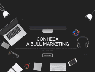 bullmarketing.com.br screenshot