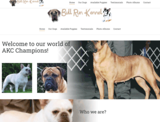 bullrunkennel.com screenshot