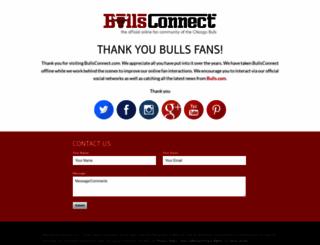 bullsconnect.com screenshot