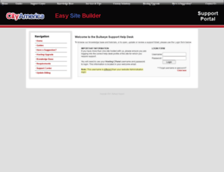 bullseyesupport.com screenshot