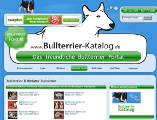 bullterrier-katalog.de screenshot