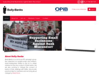 bully-banks.co.uk screenshot