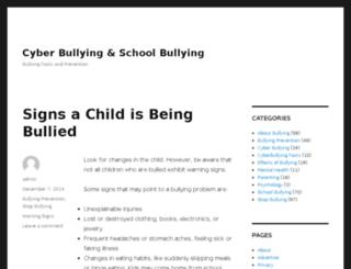 bullyingtalk.com screenshot