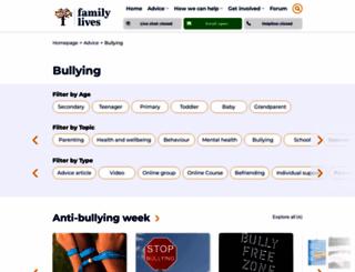 bullyonline.org screenshot