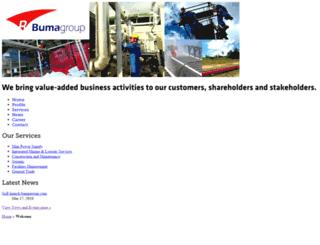 bumagroup.com screenshot