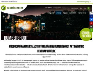 bumbershoot.strangertickets.com screenshot