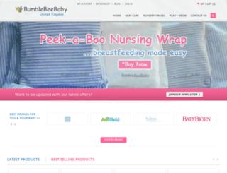 bumblebeebaby.co.uk screenshot