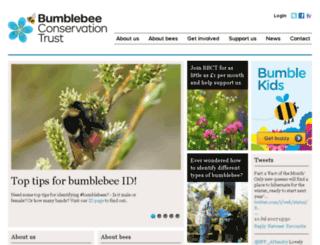 bumblebeeconservation.org.uk screenshot