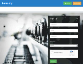 bumdy.com screenshot
