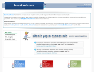 bumekanik.com screenshot