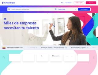 bumeran.com.ec screenshot