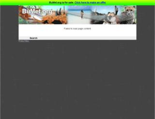 bumet.org screenshot