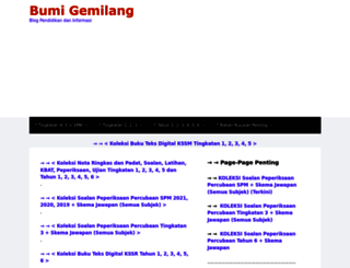 bumigemilang.com screenshot