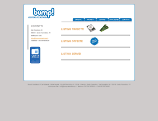 bump-assistenza.it screenshot