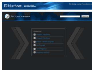 bumpandme.com screenshot
