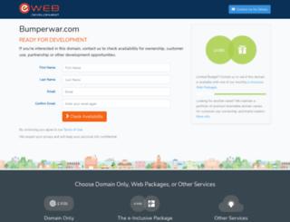 bumperwar.com screenshot