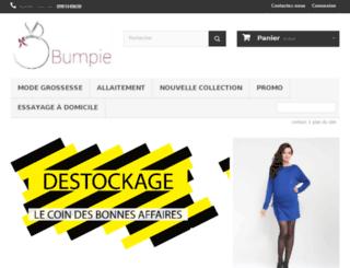 bumpieshop.com screenshot