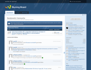 bundeswehr-community.info screenshot