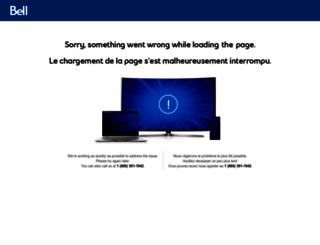 bundle.bell.ca screenshot