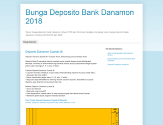 bunga-deposito-bank-danamon.blogspot.com screenshot
