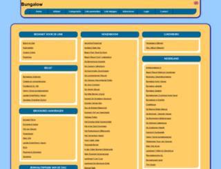 bungalow.allepaginas.nl screenshot