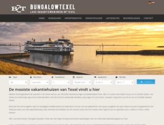 bungalowtexel.nl screenshot