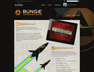 bungieaerospace.com screenshot