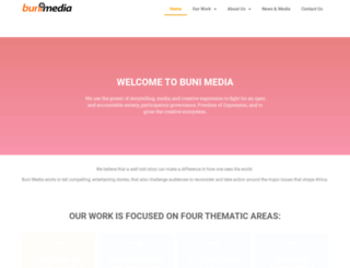 bunimedia.com screenshot
