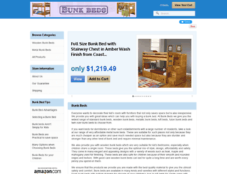 bunk-beds.org screenshot