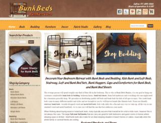 bunkbedsbunker.com screenshot