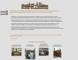 bunker-allianz.de screenshot