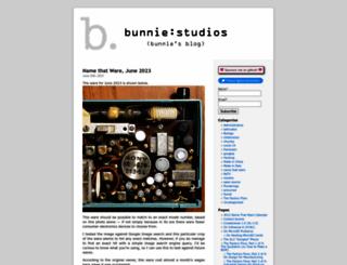 bunniestudios.com screenshot