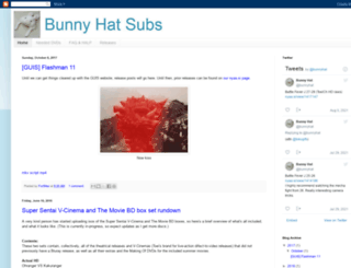 bunnyhat.blogspot.fr screenshot