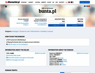 bunta.pl screenshot