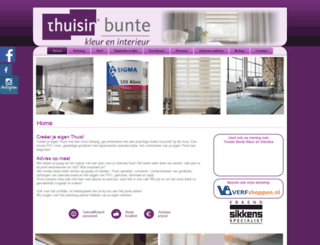 buntekleureninterieur.nl screenshot