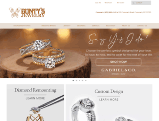 buntysjewelry.com screenshot