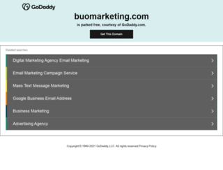 buomarketing.com screenshot