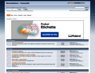 buonalettura.org screenshot