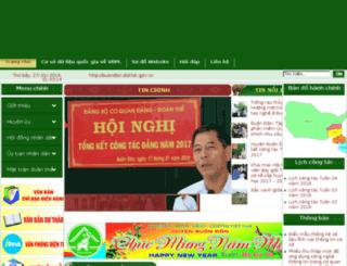 buondon.daklak.gov.vn screenshot