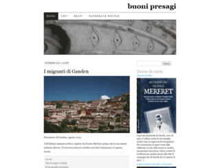 buonipresagi.wordpress.com screenshot