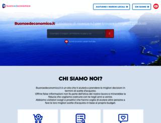buonoedeconomico.it screenshot
