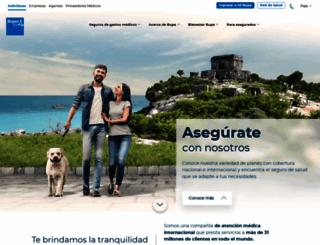 bupa.com.mx screenshot