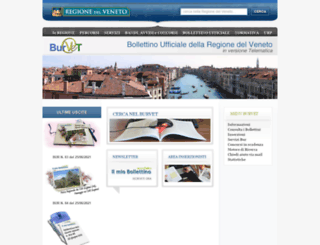 bur.regione.veneto.it screenshot