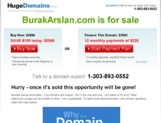burakarslan.com screenshot