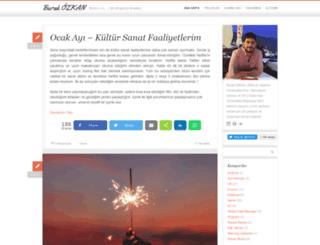 burakozkan.net screenshot