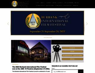 burbankfilmfest.org screenshot