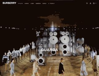 burberry.it screenshot