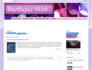 burbujasweb.com screenshot