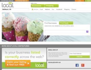 burcas.rhi.local.com screenshot