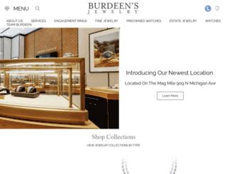 burdeens.com screenshot